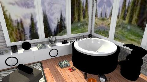 Bathroom Getaway - Country - Bathroom - by AshiraLevana
