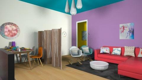living in plastic - Living room - by skua