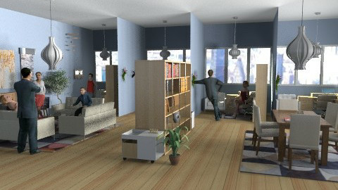 Dream office space - Modern - Office - by alleypea