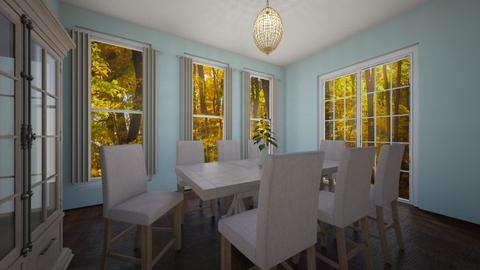 dining room  - Country - Dining room - by jessicabaucke