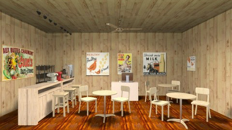 hollywood cafe - Office - by barly