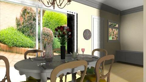 dining room final____5 - Dining room - by bellabravis