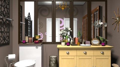 bathroom - Rustic - Bathroom - by jewels0686