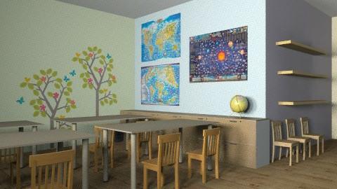 classroom - by rororo
