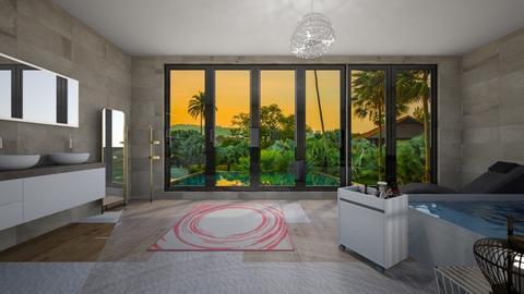 Design 14 BALI - Minimal - Bedroom - by michellitamuralles