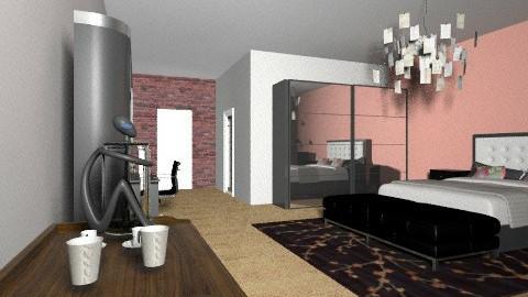 hotell - Bedroom - by Mulligan Maria
