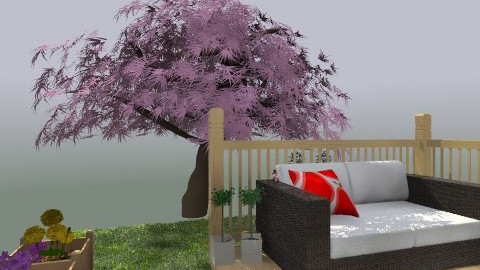 Deck number one - Minimal - Garden - by monica_