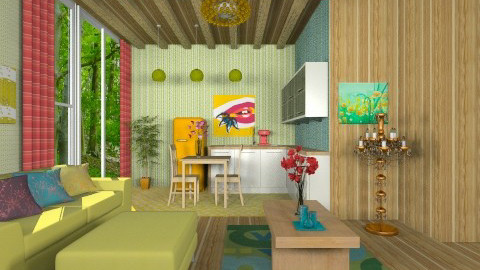 Rainbow Studio - Glamour - Living room - by deleted_1566988695_Saharasaraharas