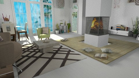 Ico 1 - Modern - Living room - by violeta1987
