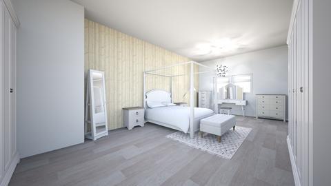 bedroom design  - Bedroom - by Amyfrazer23