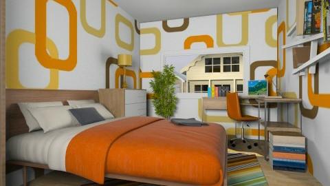 For De Tre Tosser 3 - Eclectic - Bedroom - by Theadora