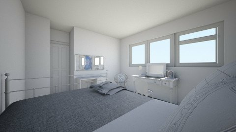 new room part 1 - Bedroom - by 3d room