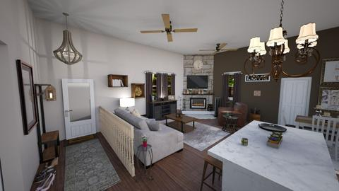 portfolio before n after - Living room - by jdenae3
