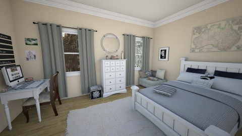 townhome - Bedroom - by carli1504