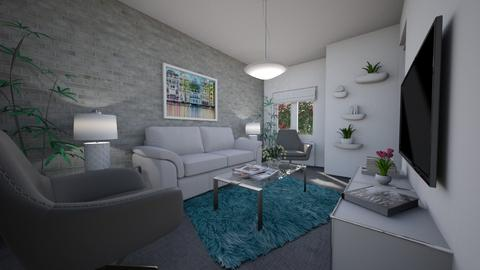 For Leahvilliers99 - Eclectic - Living room - by Theadora