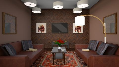 New Idea - Retro - Living room - by Yate