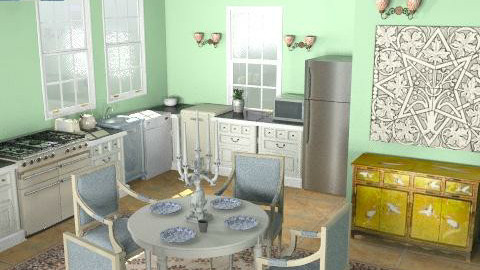 quirky country - Country - Kitchen - by lstash