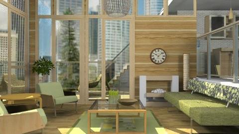Zen - Modern - Living room - by liling