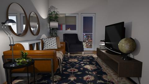 APPT1 - Vintage - Living room - by teighmac