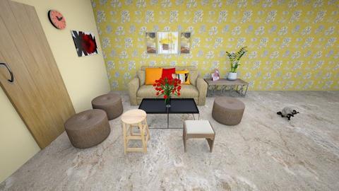 Darshan Final 1 - Rustic - Living room - by jiltsheth