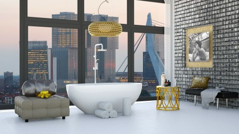 Penthouse Luxury Bathroom - Modern - Bathroom - by bgref