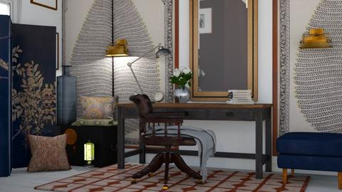 boho study - Office - by Ripley86