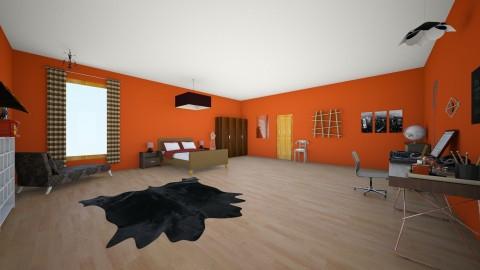 Dream house upper floor - Bedroom - by pinkcupcake253
