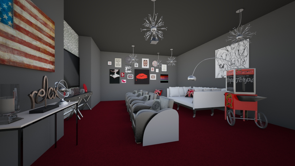 movie room - by jessicabaucke