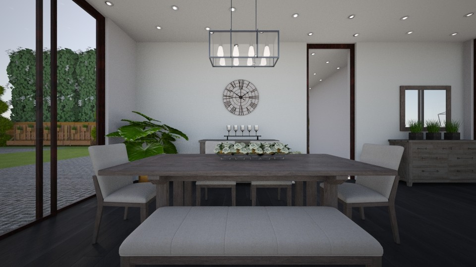 house 2 dining room - Dining room - by abida427