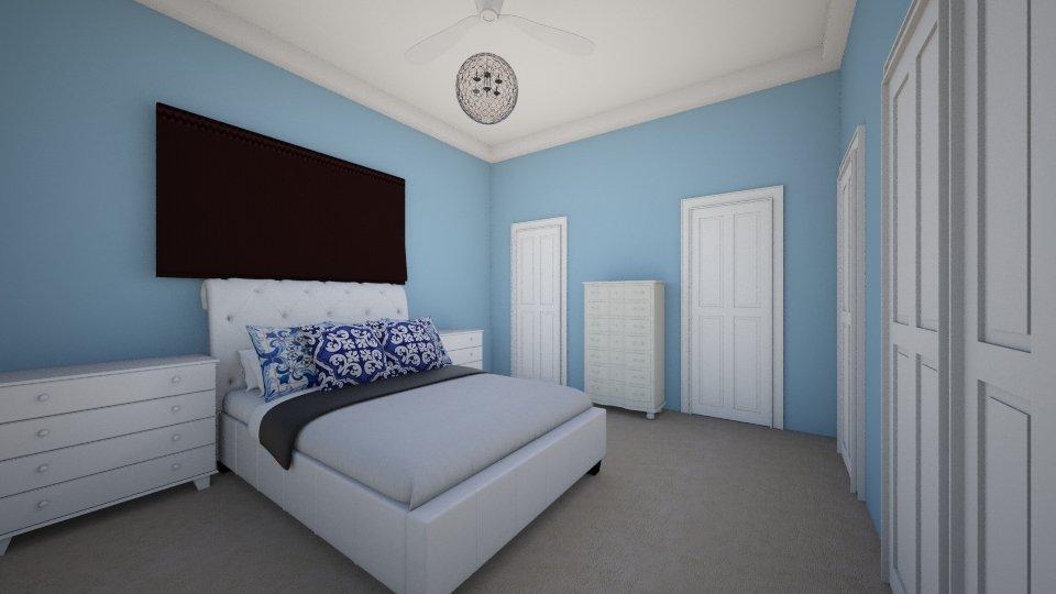 bedroom one - Bedroom - by pamela Cowan