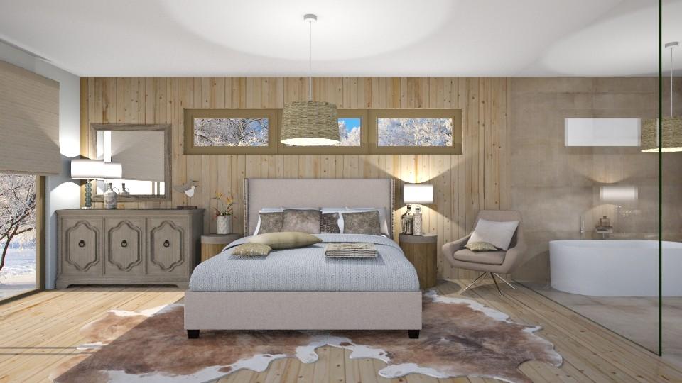 wood - Bedroom - by bohdalkovakata