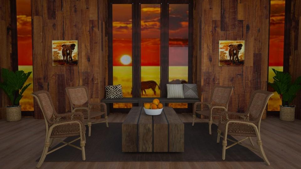 African Living - Global - Living room - by stephendesign