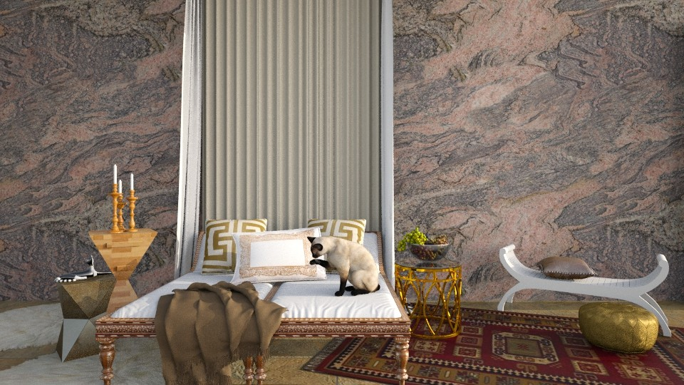 Egyptian Cat - by DeborahArmelin
