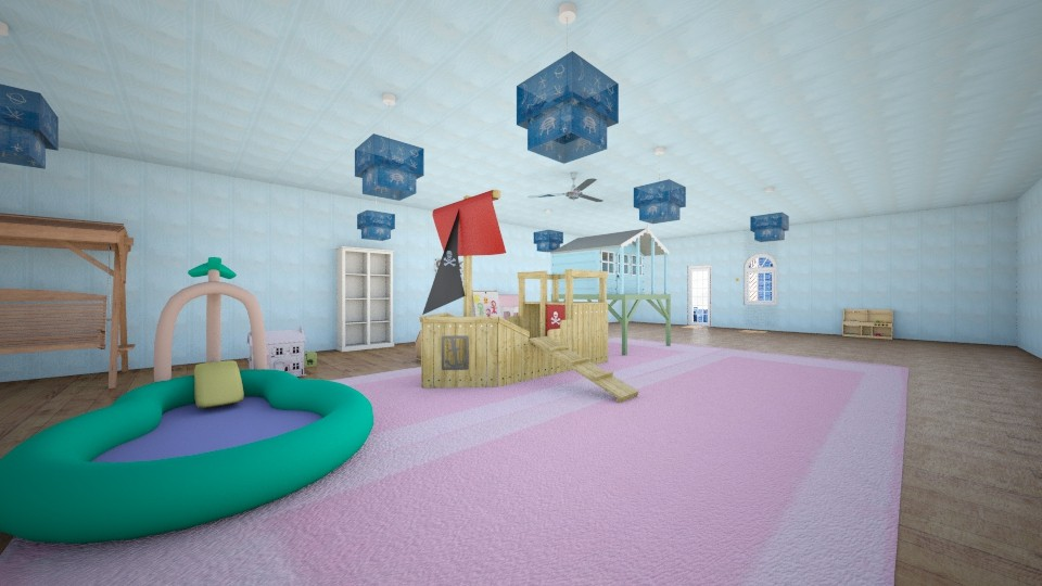 Daycare 1 - Modern - Kids room - by Evelyn Houghton Jones