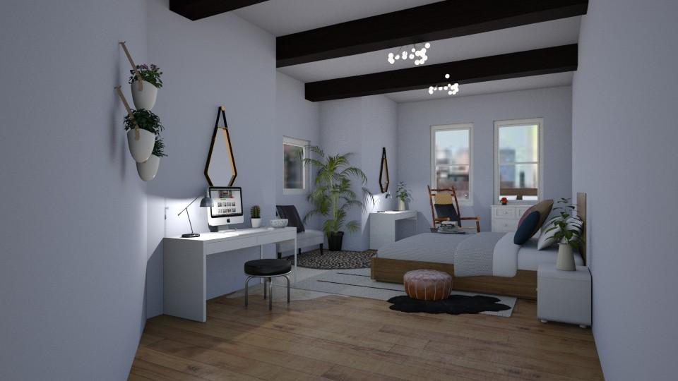 Modern Master - Bedroom - by smithpetraf