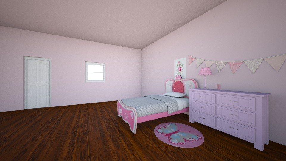 Girl Bedroom 1 - by PiggyLover316