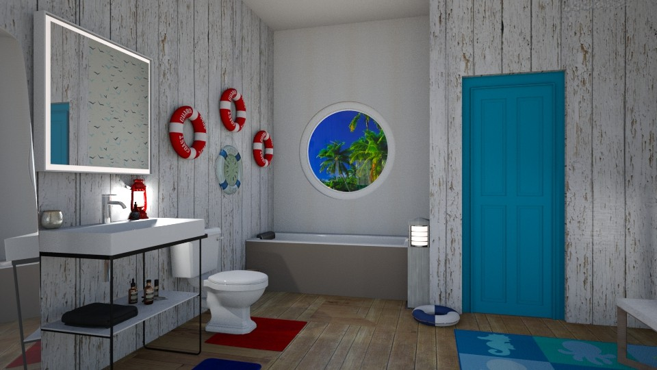 Nautical  - Bathroom - by RaeCam