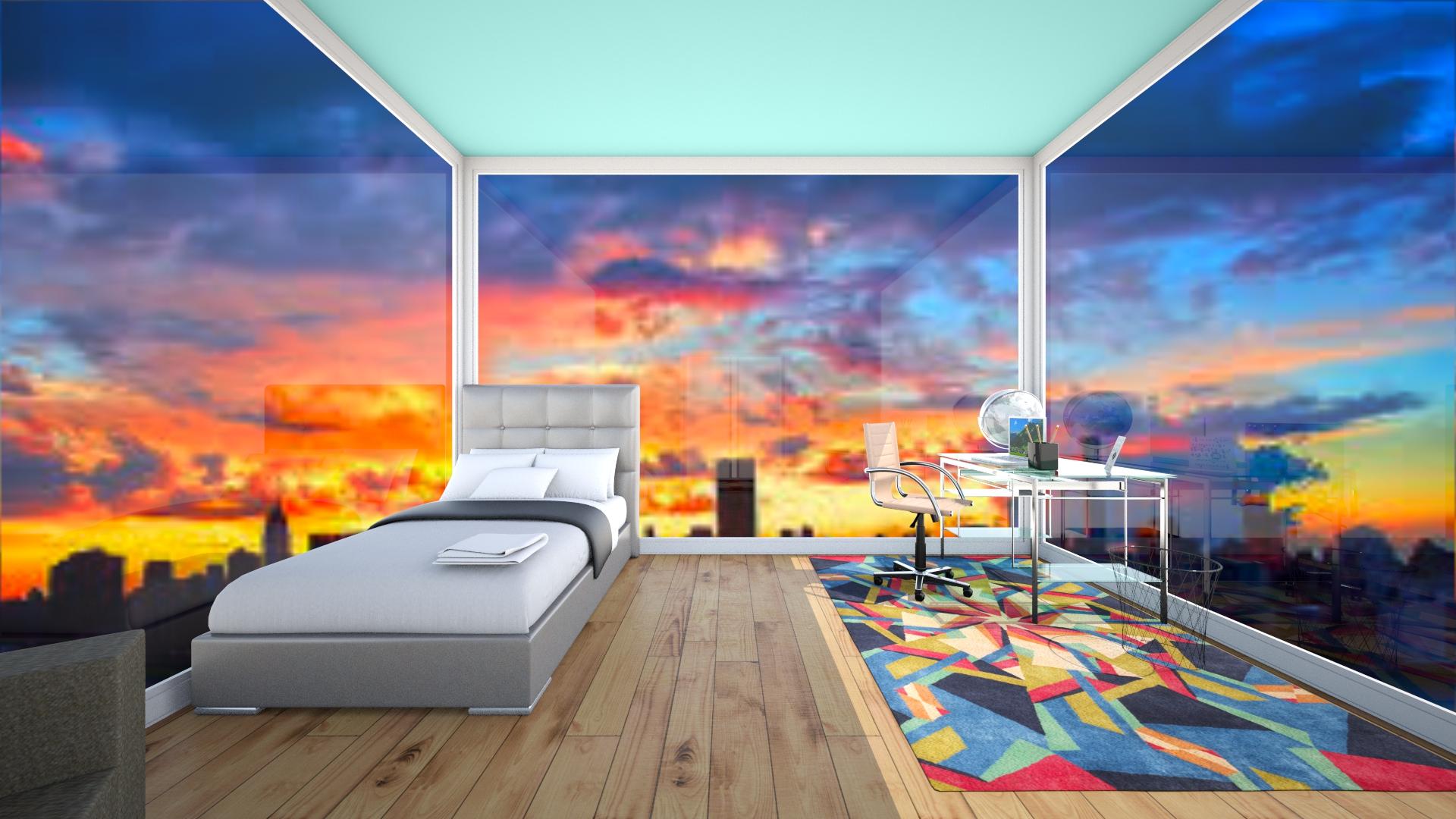 Cozy NYC Bedroom  - Bedroom - by awsompaws