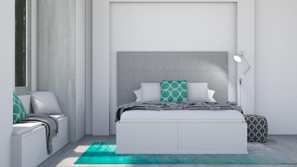 Light Aqua - Modern - Bedroom - by stephendesign