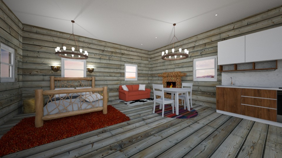 Hide away for two - Rustic - Living room - by JarvisLegg