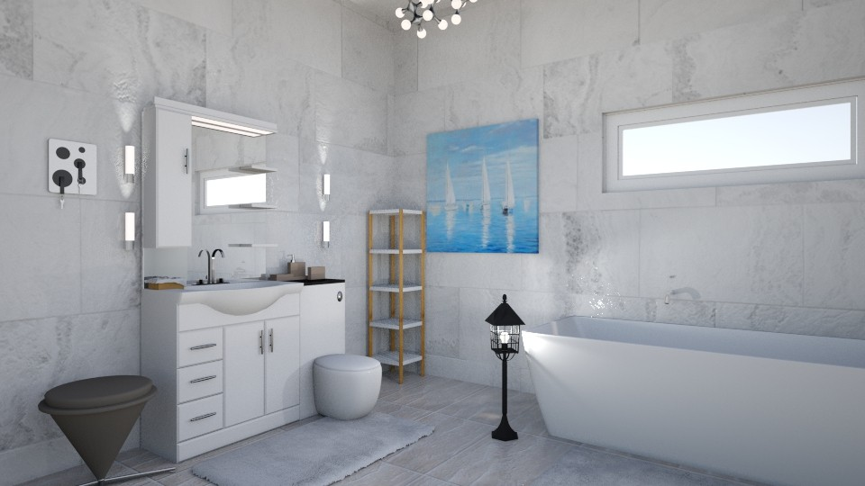 Nautical_Bathroom - Bathroom - by RaeCam