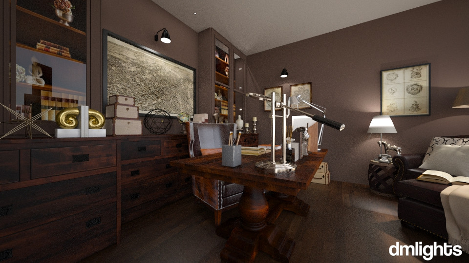 study! - Office - by DMLights-user-996689