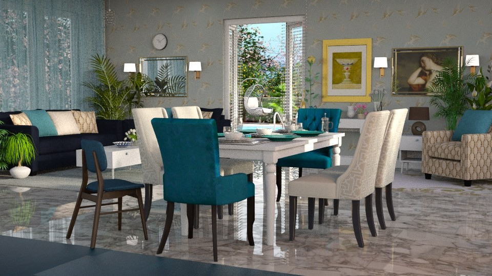Jaya Calypso - Modern - Dining room - by anchajaya