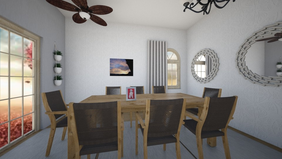 IM BACK  - Dining room - by India Arwyn