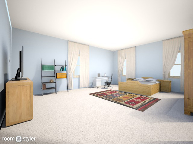 Small Aapt. - Bedroom - by Lesley48