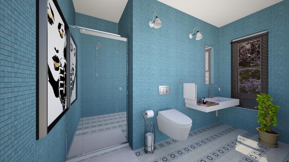 halleeeeey - Bathroom - by andaq