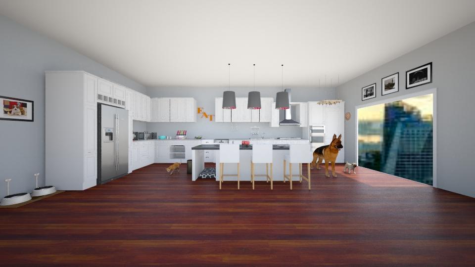 kitchen - by nandabear