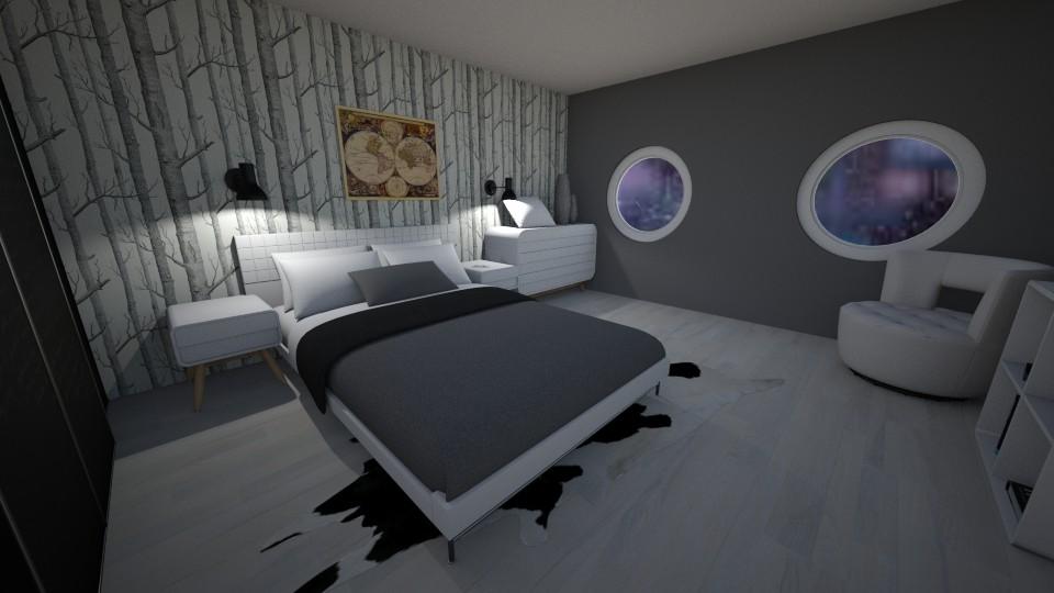 Lilis design  - Modern - Bedroom - by Lili Cooley