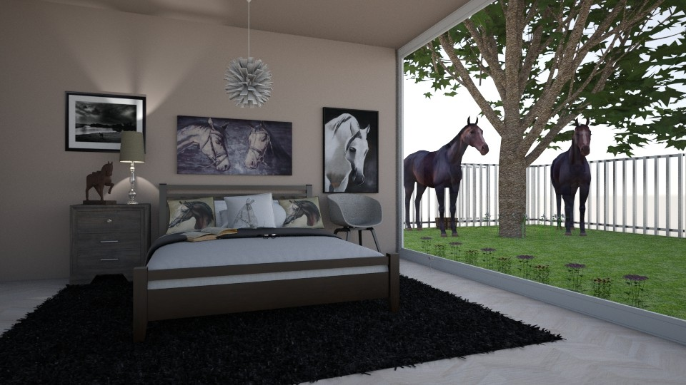 Horse Bedroom Contest - Bedroom - by Yate