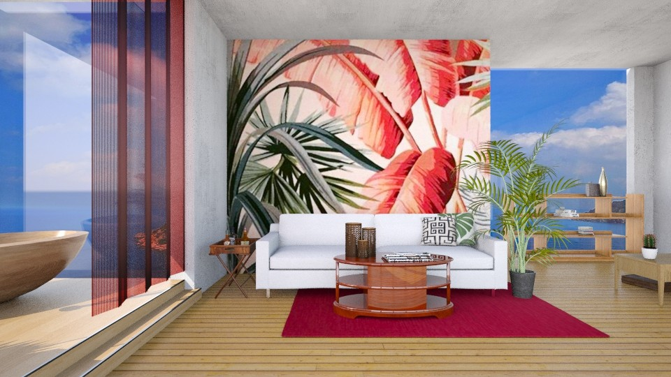 Tropical Wall - by Naavarin